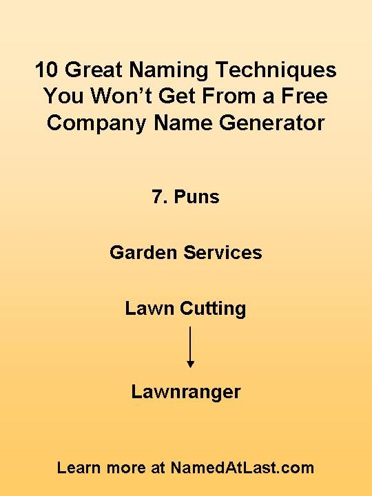 Considering A Free Company Name Generator Ten Great Naming Techniques They Overlook