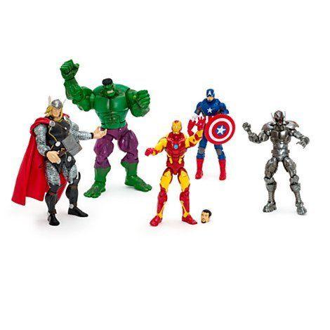 » Marvel Avengers Legends Action Figures, Set of 5
