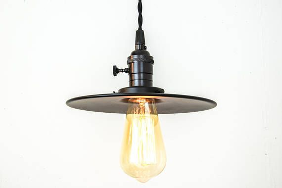 Industrial Lighting Black Pendant Lights Farmhouse Light