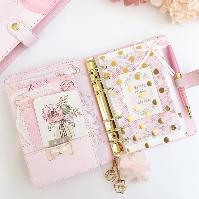 Good morning  Have a great day!!! Setup Kikki.K Pink Lavender…