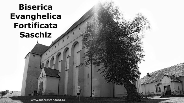 Prin Biserica Evanghelica Fortificata Saschiz cu DJI Osmo Mobile si Sams...
