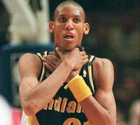 Reggie Miller | Indiana Pacers - he used to be one of my favorite players!