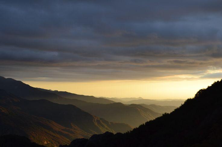 Sequoia sunset October 2016