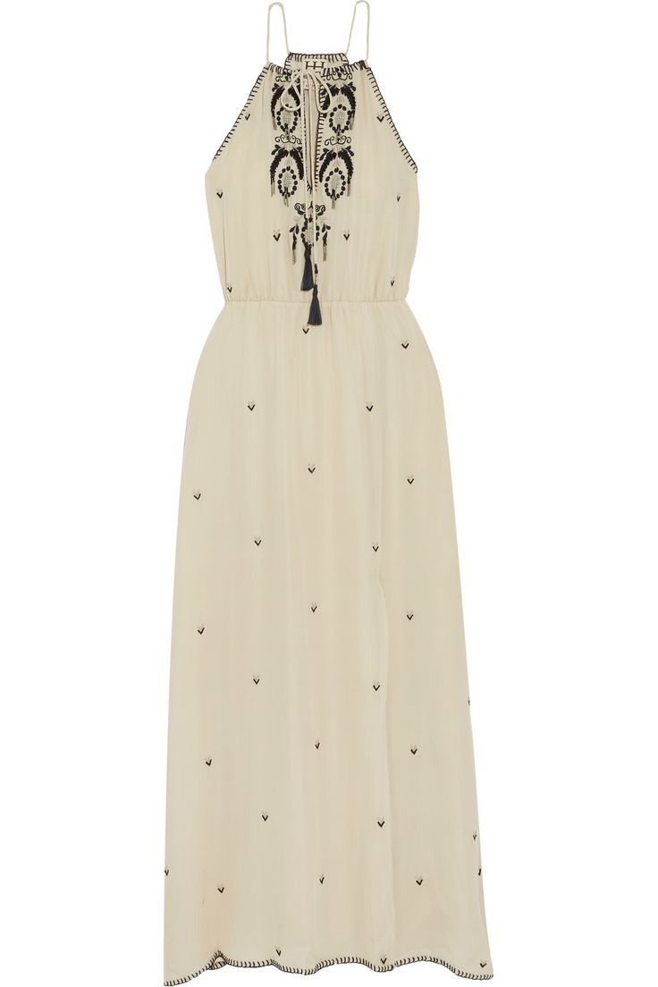 Shop on-sale Haute Hippie Embellished silk-crepe maxi dress. Browse other discount designer Dresses & more on The Most Fashionable Fashion Outlet, THE OUTNET.COM