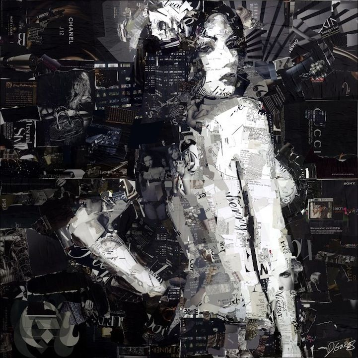 Collage Artist Masterfully Controls Chaos by Derek GoresArtderek Gore, Art Inspiration, Magazines Art, Collage Artists, Art Chaos, Art Collage, Collageart, Art Artistas, Artists Derek