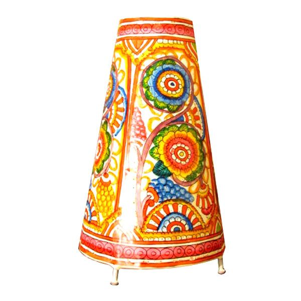 41 best hand painted indian lampshades images on pinterest lamp bring the lodge look to your favorite space with painted lamp shades or soft painted leather mozeypictures Gallery