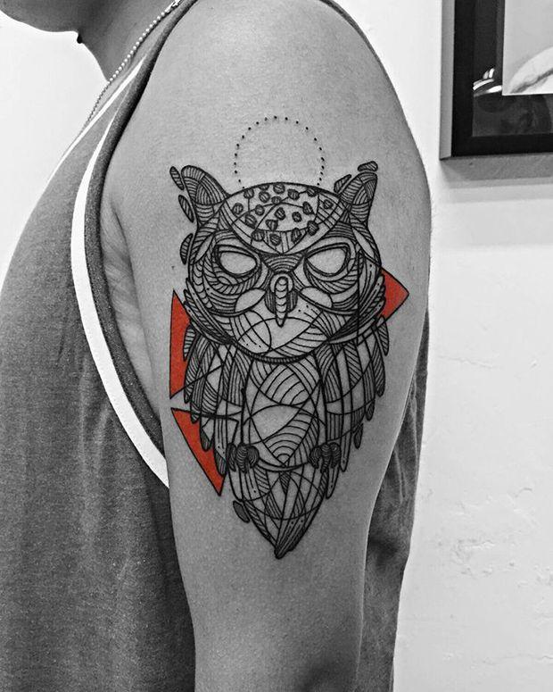 Tatuagens linhas contínuas - Stan Bree, Cidade do México;                                                                                                                                                                                 Mais