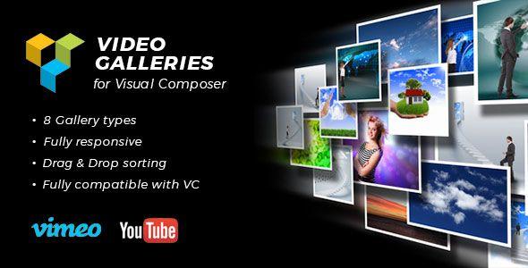 Video Galleries for Visual Composer Wordpress Plugin