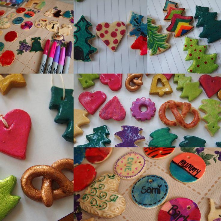 #DIY #handmade #kids #Salzteig #easy #Christmas #gifts #craftsforkids