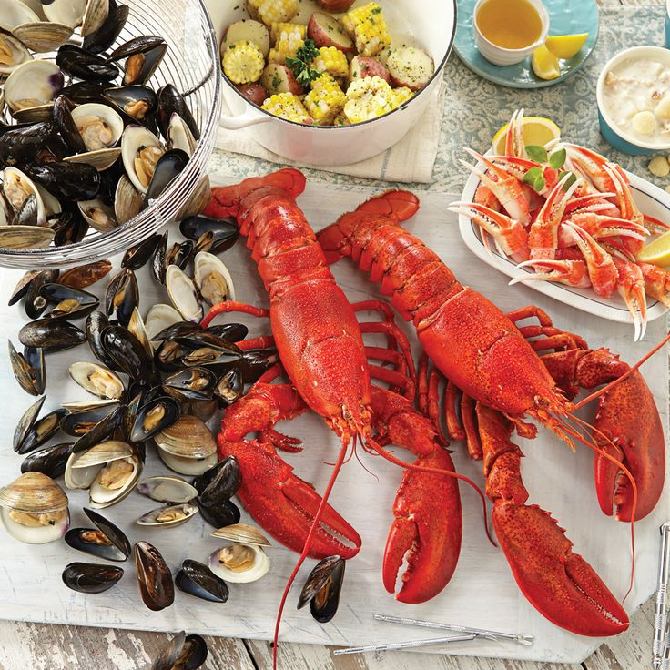 Live Lobster Dinners