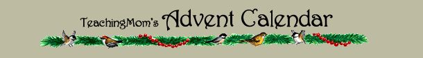 Advent Calendar - ideas for devotions, scripture, activities and family discussions for everyday of advent - this site is a keeper!