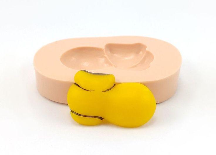 Molde de silicone Sapato do Mickey, Sueli Ribas - Sueli Ribas