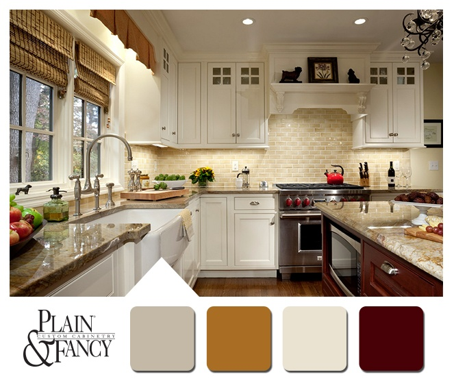 116 best images about colors that inspire on pinterest for Traditional kitchen color schemes