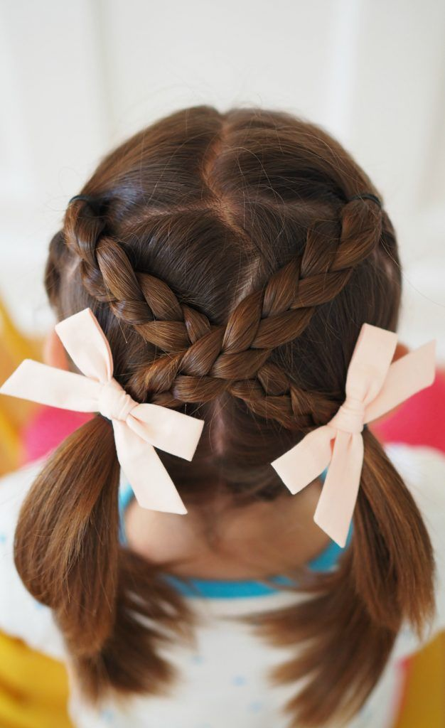 Very Easy Hair Styles For Girls From Toddlers To School Age Hair