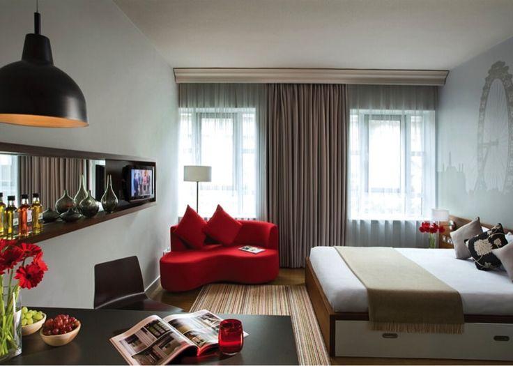Beautiful modern apartment studio room