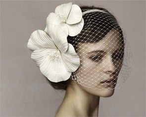 Vintage wedding hats