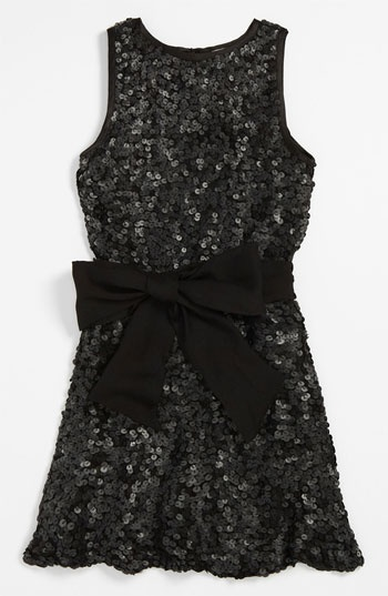 La Piccola Danza Kidswear Sequin Shift Dress (Little Girls & Big Girls) available at #Nordstrom
