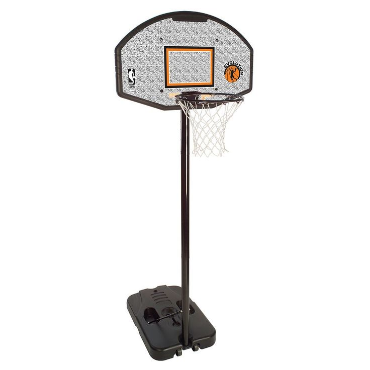 Spalding 44-in. Eco-Composite Portable Basketball Hoop - Youth, Multicolor