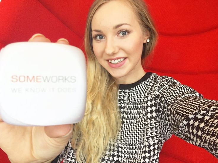 SomeWorks has also some girl power! My name is Sarianne and I'm the responsible of SomeWork's Instagram and Pinterest. I hope you'll like our page here on Pinterest!