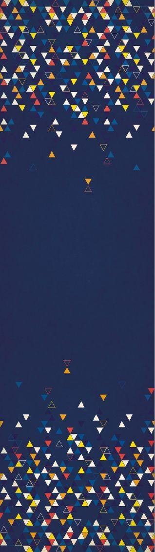 Finch Fabric Triangle Love Spring BLAU - Glücksmarie Onlineshop