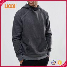 2016 Пользовательские оптовая продажа мужской пуловер толстовки для тренажерного зала
