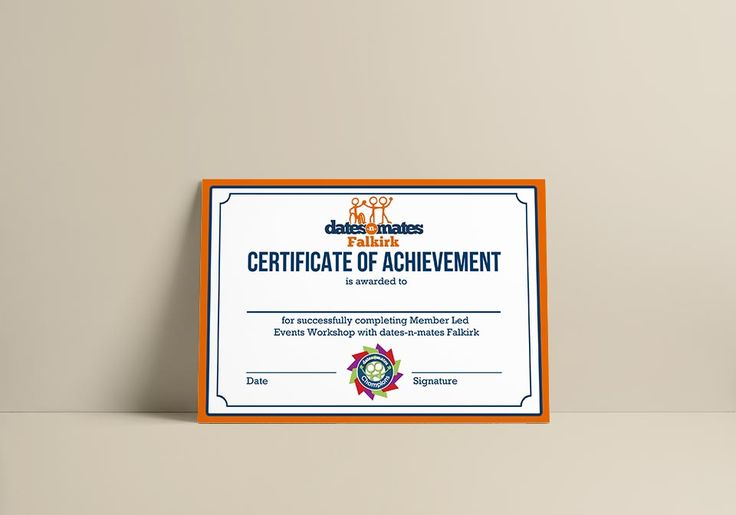 certificate landscape falkirk member led certificates