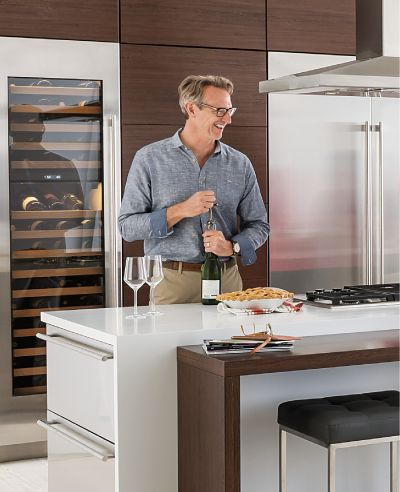 A Sub Zero wine cooler… Here's why, in my opinion, you can raise your glass to better wine storage and preservation if you choose any of their units.