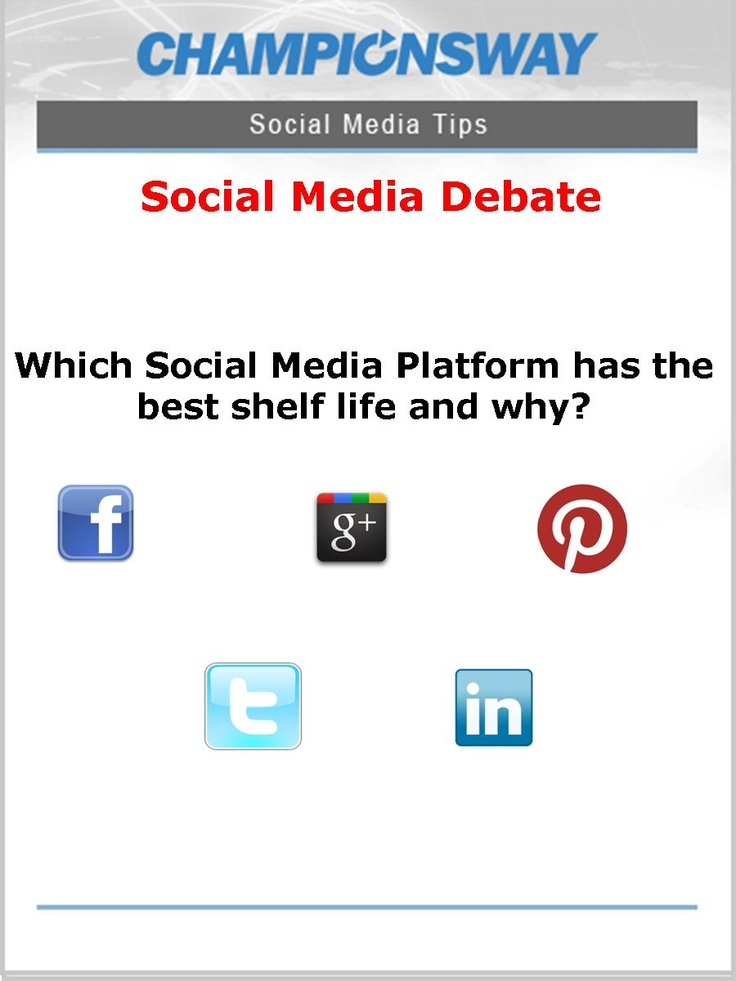 debate advertising and social networking One of the important debates in the social media era regards the future of  television  social marketing catch up with tv advertising, both marketing and  media.