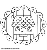 free cottage pattern