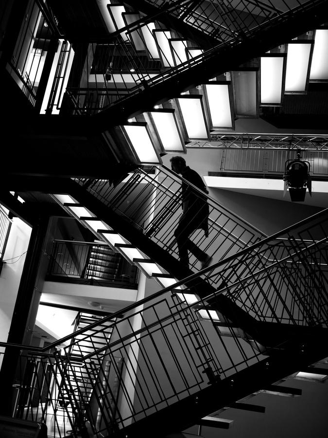 Upstairs... by Thomas Leuthard, via 500px