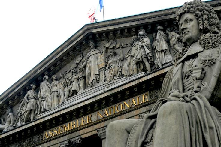 Assemblee Nationale in Paris