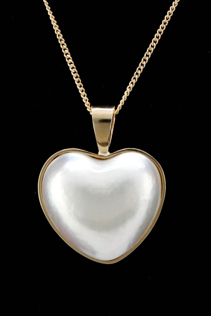Heart pearl necklace - Beyond the Rack