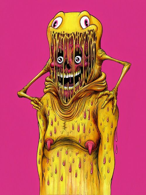 """The Astronaut"" By Alex Pardee"