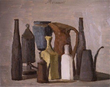 Giorgio Morandi, Still life ( nature morte) 1940 on ArtStack #giorgio-morandi #art