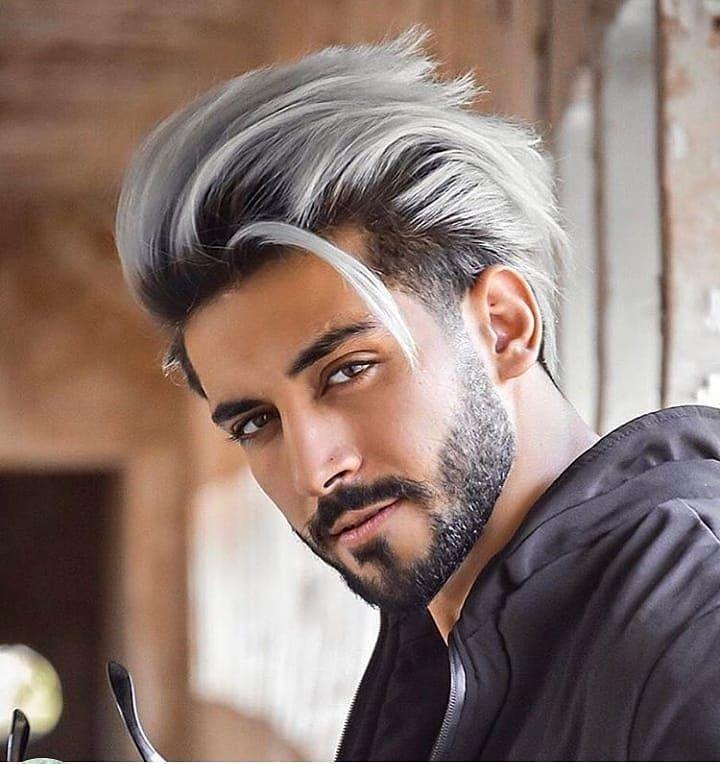 Herren Mittellange Frisuren Um Immer Auf Dem Punkt Zu Sein In 2020 Frisur Geheimratsecken Manner Haarfarbe Herrenhaarschnitt