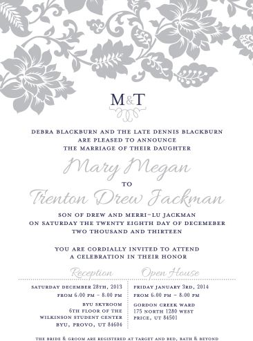 34 best floral wedding invitations images on pinterest floral the invitation maker offers high quality custom wedding invitations with a unique 1 on stopboris Gallery