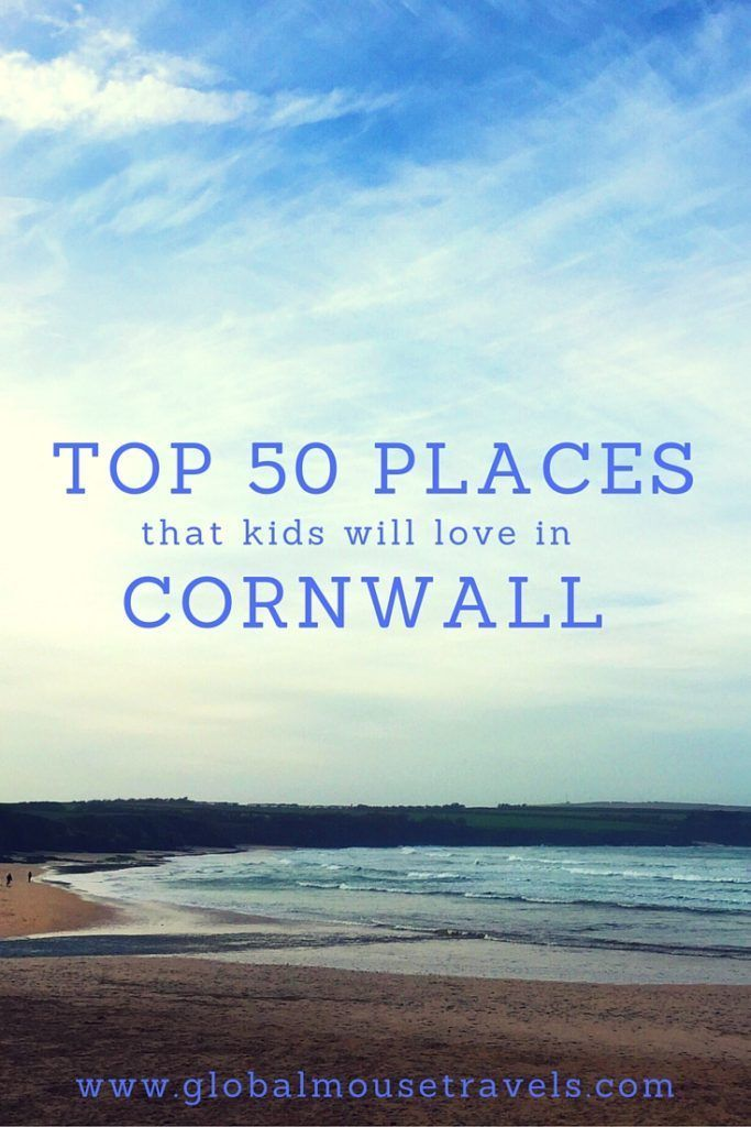 50 places in Cornwall to take your kids before they grow up - quirky, cool, unusual and fun places to take your children around Cornwall