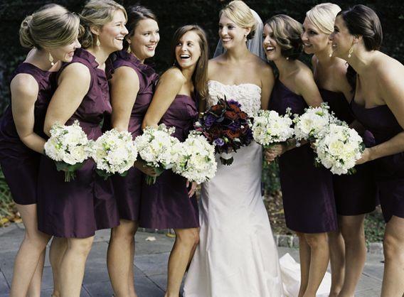 plum and gold weddings | Plum And Gold | Trendy Bride Wedding Blog