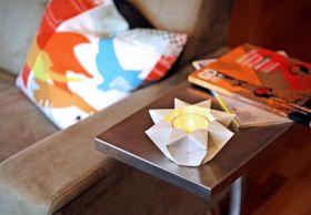 How About Orange: Make an origami star lantern