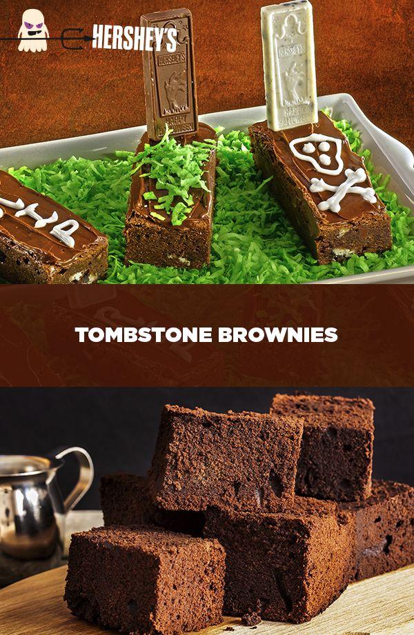 Tombstone Brownies | Recipe