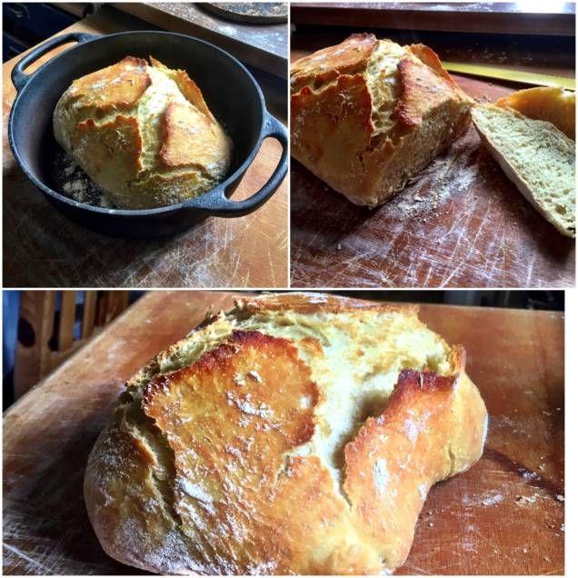 Enkelt bröd där tiden får göra jobbet.