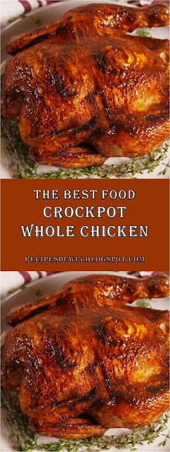 ★★★★★ 712 Reviews: This is The Best #Food #Chicken #Recipes >> Crockpo…