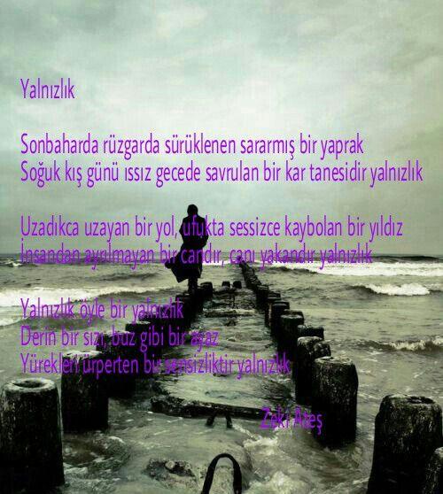#yalnızlık #zekiates