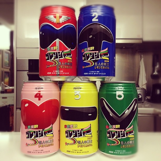 Go Ranger #sentai #dydo #japan - @jsitthichai | Webstagram Used to watch Go Rangers when I lived in Japan as a child.  :)