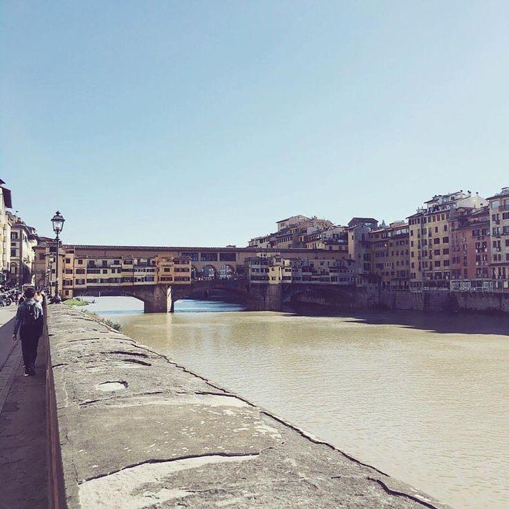 Arno e Ponte Vecchio, Firenze