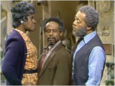 Sanford And Son Cast | Sanford and Son - 03x22 Aunt Esther and Uncle Woodrow Pffttt . . .