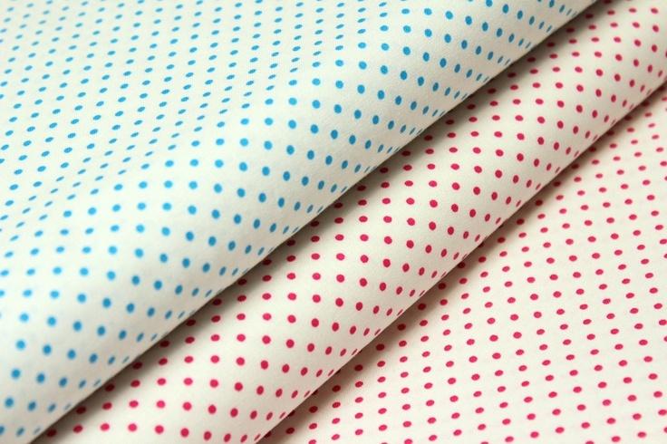 stoff punkte punkte stoff mini punkte wei pink ein designerst ck von alles fuer. Black Bedroom Furniture Sets. Home Design Ideas