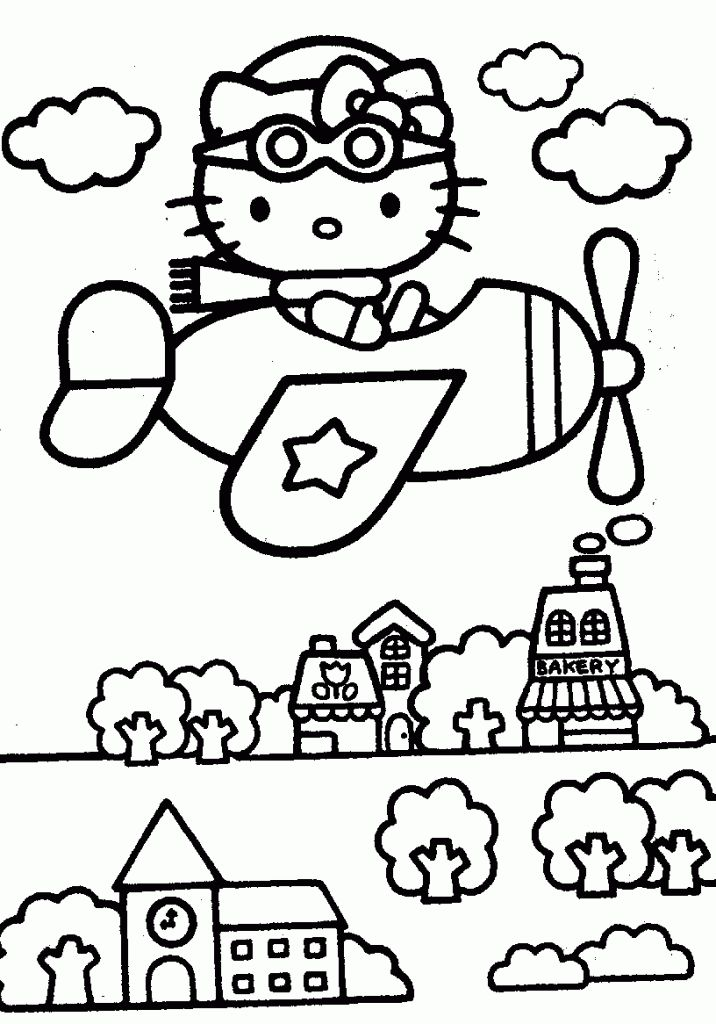 133 best Hello Kitty Coloring Pages images on Pinterest ...