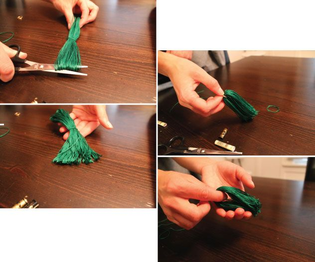 Hammers and High Heels: Head Over Heels Friday: Accessorizing with DIY Tassels! Tutorial Included!