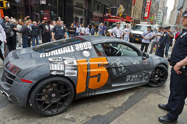 Gumball 3000 2012 - 15 Team Wolfpack Audi R8 V10 by Brian Hirschfeld Photography, via Flickr